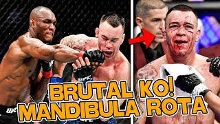 UFC 245: PELEADORES REACCIONAN al BRUTAL NOCAUT de KAMARU USMAN vs COLBY COVINGTON EN UFC 245