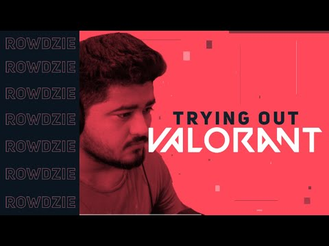 RP DONE | NOW VALORANT TIME LETS GOOOO! | ROWDZIE