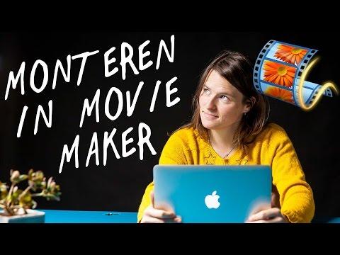 Monteren met Windows Movie Maker | Tutorial voor Beginners | de Videomakers 2017