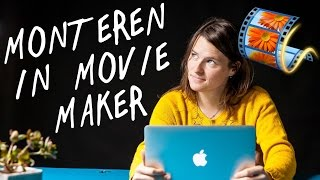 Monteren met Windows Movie Maker | Tutorial voor Beginners | de Videomakers 2017