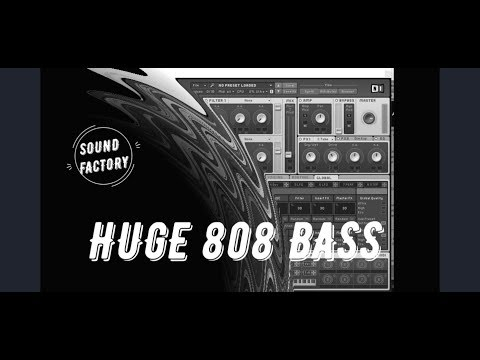 Massive Tutorial: Huge 808 Bass which is used by Steve Aoki, Yellow Claw, Dj Snake etc.