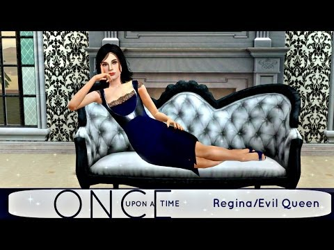 The Sims 3 - Create A Sim - Once Upon A Time - Regina/Evil
