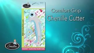 Chenille Cutter: Comfort Grip Ergonomic Rotary Cutter