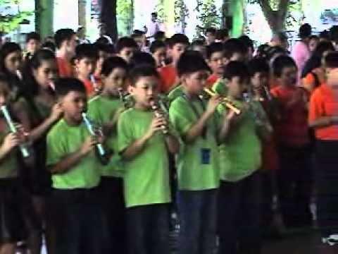 'HAMS School Hymn' by HOLY ANGELS MONTESSORI SCHOOL - JVFLUTE, JESS VIRAY.wmv