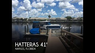 Used 1968 Hatteras 41 Double Cabin Motor Yacht for sale in Naples, Florida