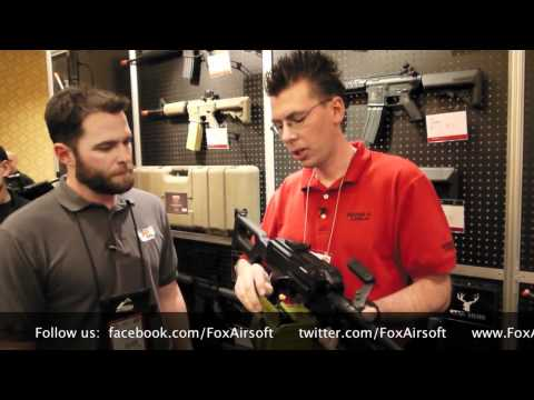 Echo 1 PKM  Electric Airsoft Gun Release Interview With Brian Holt