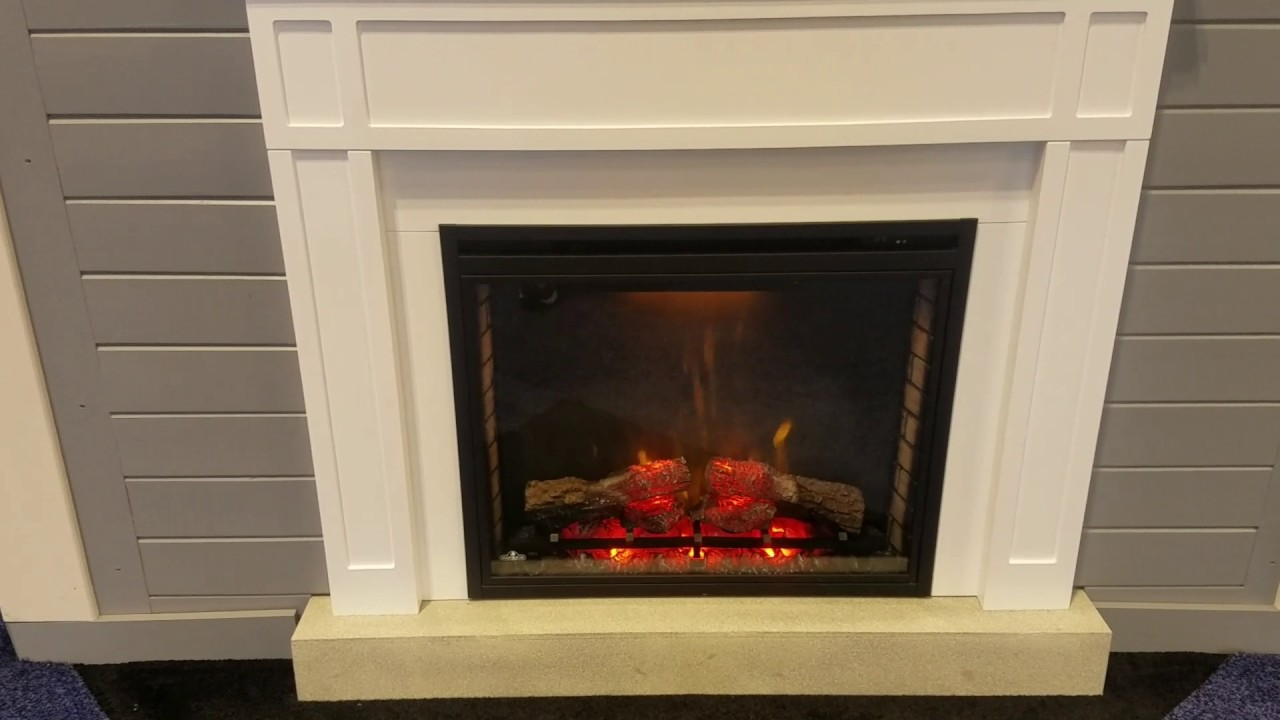 napoleon ascent electric fireplace youtube