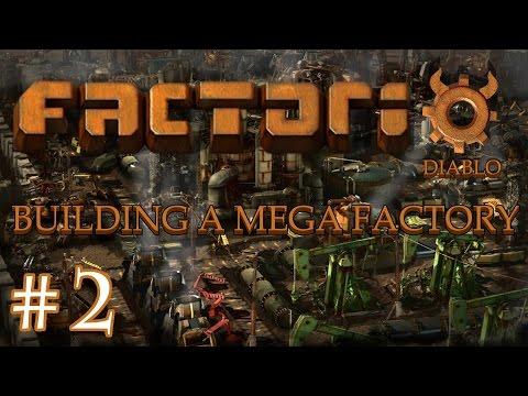 Factorio - Building a Mega Factory: Part 2, Blueprints  & Smelting