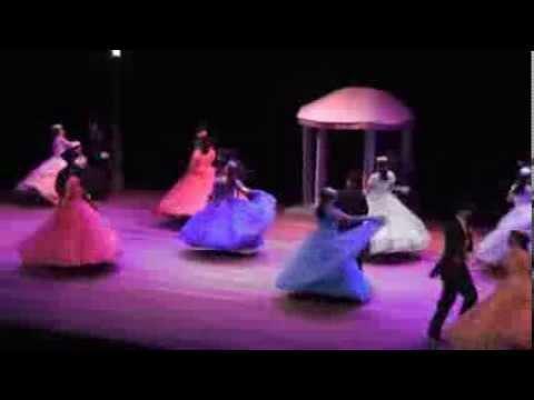 Bailes folklóricos de Costa Rica -  teatro Melico Salazar - Noviembre 2013