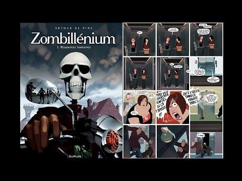 bande dessinee zombillenium