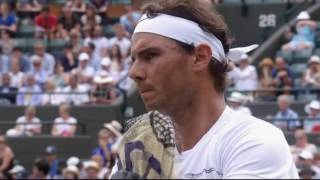 Nadal vs Muller   Wimbledon 2017