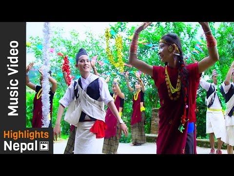 Burtibang Bata - Kishor Khatri, Devi Gharti | New Nepali Salaijo Song 2016/2073