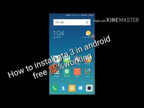 HOW TO INSTALL GTA 3 IN ANDROID 100% WORKING CHALLENGE