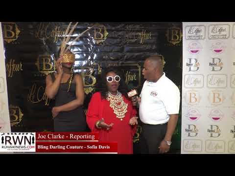 Style The Runway 2018 interviews   Bling Darling Couture   Sofia Davis