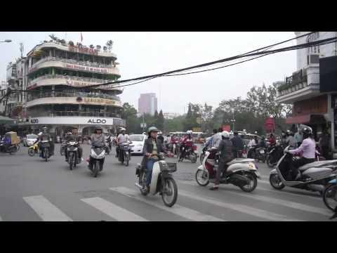Cars in Hanoi, Vietnam
