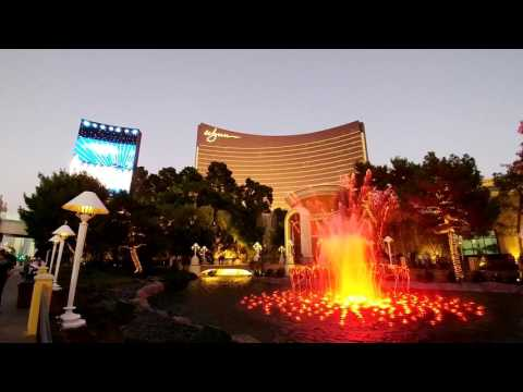 [2016. 11. 14] wynn Las Vegas fountain show full