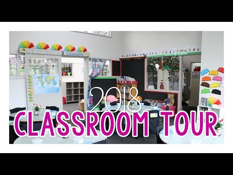 Alice in Wonderland-themed Classroom Tour