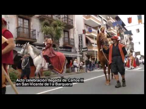 Carlos V llega de nuevo a San Vicente de la Barquera