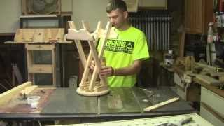 How To Build A Folding Stool Part 2