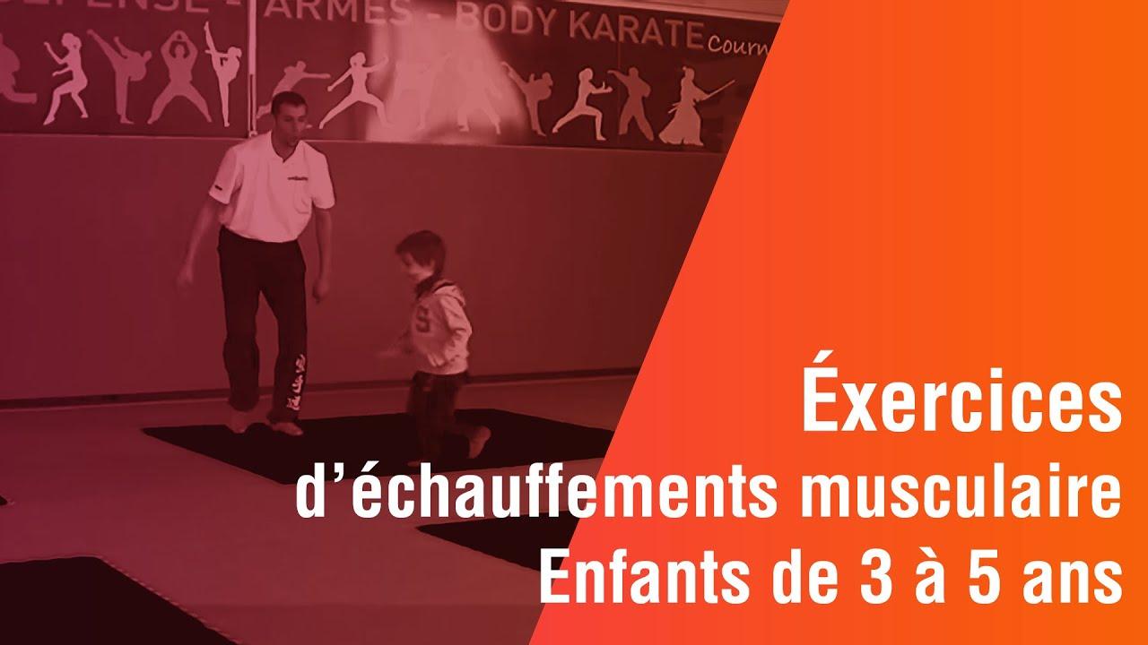Top Enfants de 3 à 5 ans, Exercices d'échauffement musculaire - YouTube LB25
