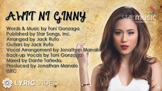 Toni Gonzaga Awit Ni Ginny Official Lyric Video
