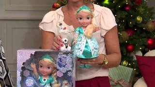 Disney's Frozen Singing Elsa Doll with Light-up Dress with Pat James-Dementri