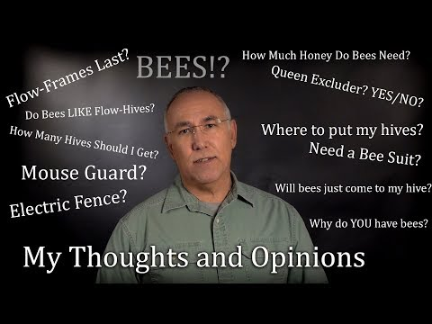 Honey Bee Keeping And Flow Hive Frequently Asked Questions Answered FAQ Bees #ONE
