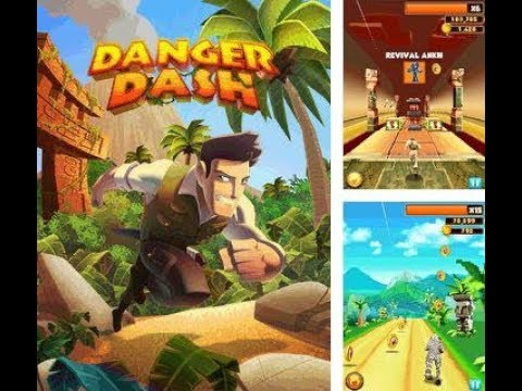 Install And Run Danger Dash Game In Jio Phone And Other Kaios Devices | New Game In Jio Phone