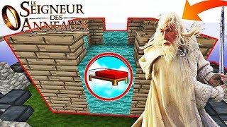 UNE BASE SÉCURISÉE SEIGNEUR DES ANNEAUX ! | Minecraft Bed Wars Moddé
