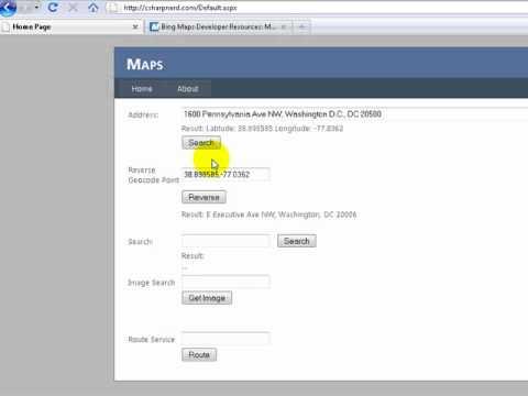 How to load Bing Maps API