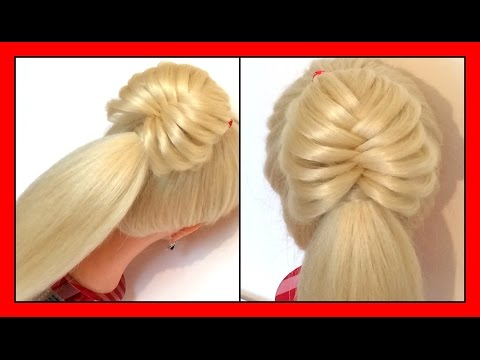 QUICK & CUTE ONE STRAND STYLE HAIRSTYLE / HairGlamour Styles /  Braids Hair Tutorial