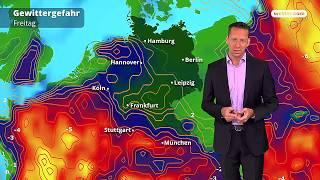 Wetter: Die aktuelle Vorhersage (20.07.2018)