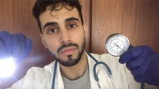 ASMR Doctor Roleplay - Yearly Check-up (Physical Examination, ear, eyes, mouth, back, heart & blood