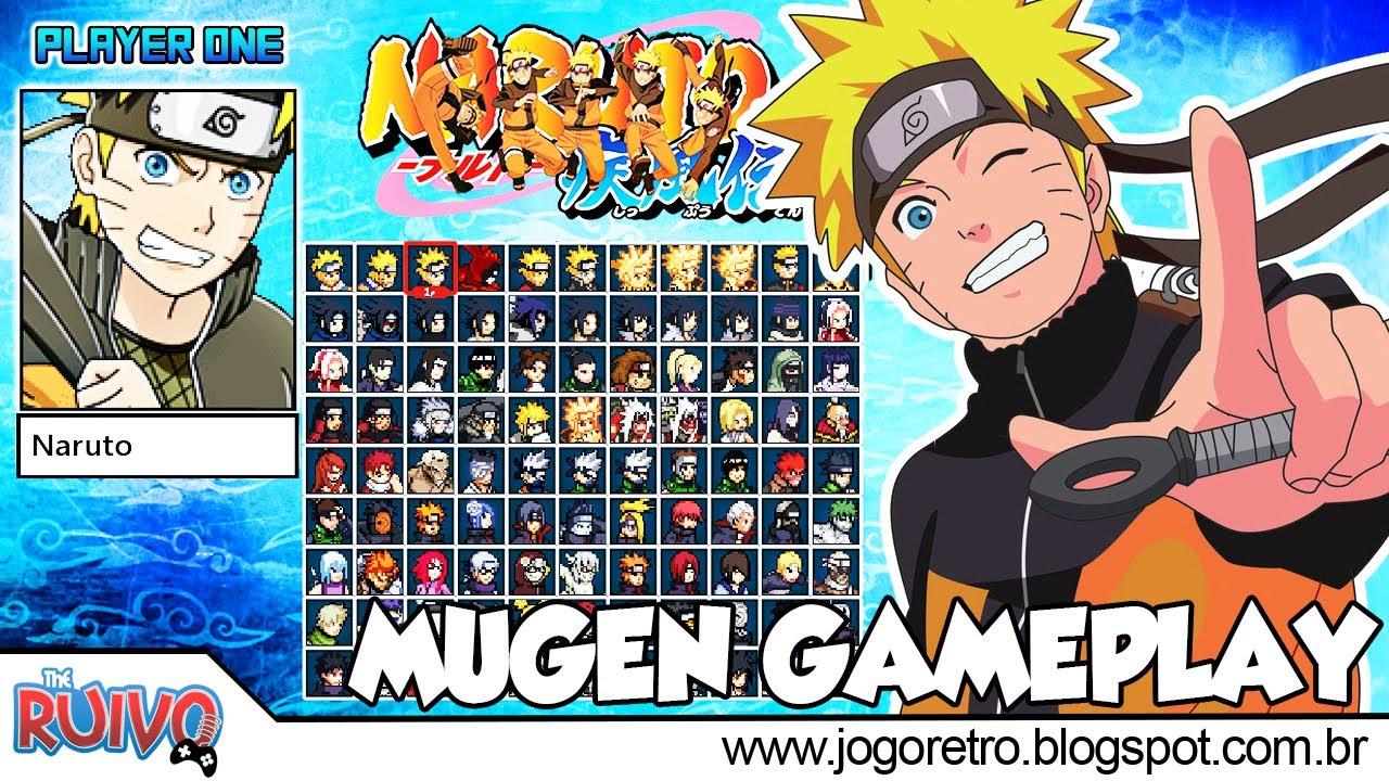 Naruto Konoha Legends 2017 (Naruto Ninja Battle V4) MUGEN 2017
