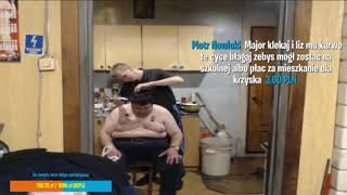 Major goli na łyso Konona Shoty live Kononowicz