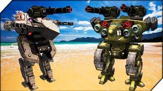 Natasha МОЙ НОВЫЙ ДРУГ- War Robots  - БИТВА РОБОТОВ # 5 Видео для детей как мультик.