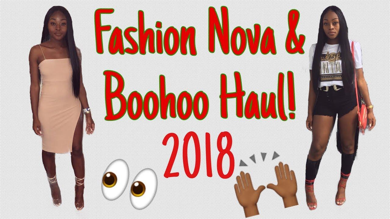 8afefc5b486dd FASHION NOVA & BOOHOO HAUL 2K18! +(SUMMER PLAYLIST)