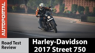 2017 Harley-Davidson Street 750 - Test Ride Review - Autoportal