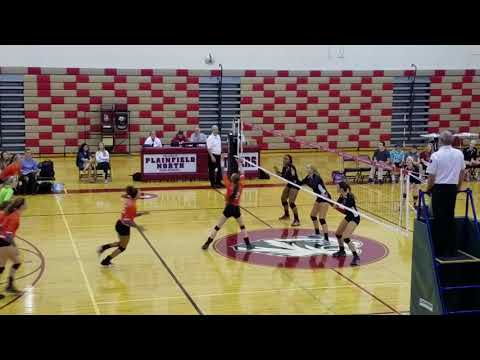 Asia Owens Volleyball Highlights Plainfield East High School