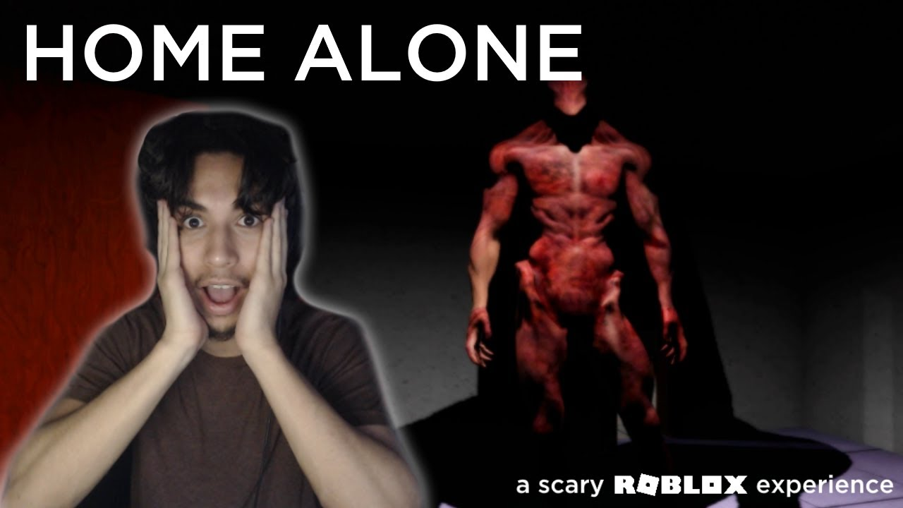HOME ALONE (scary roblox game)