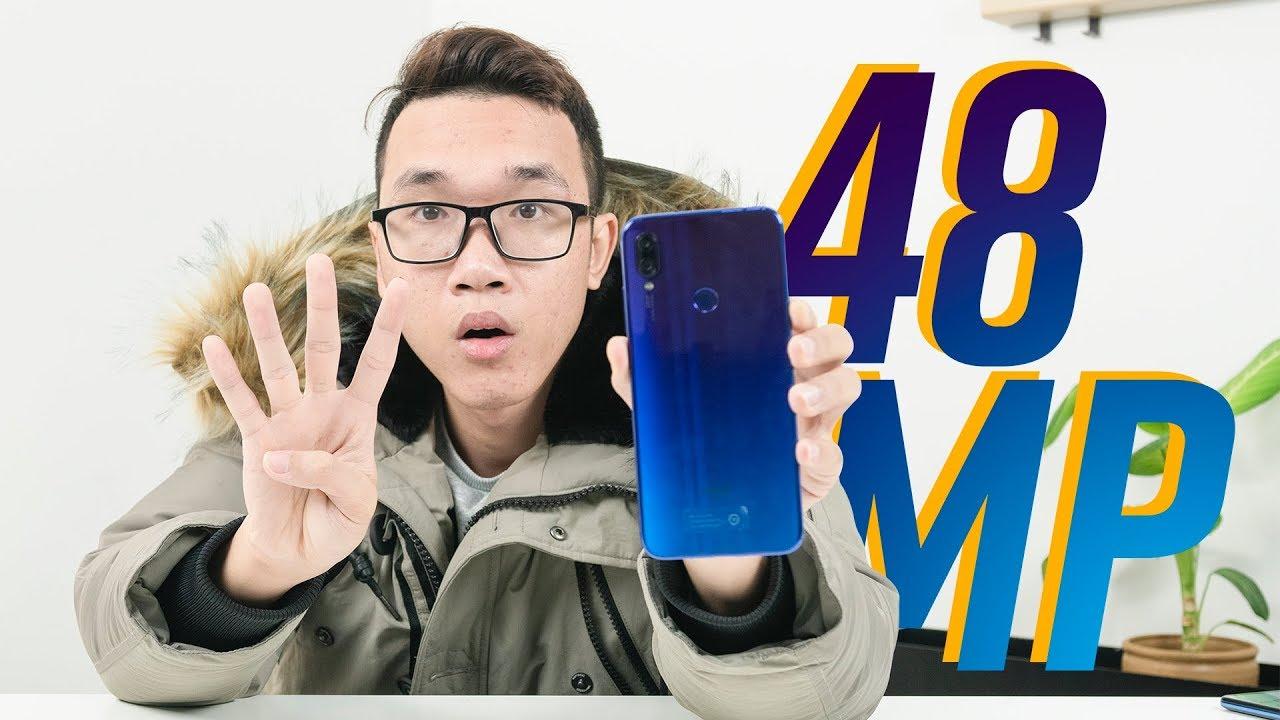 Mở hộp Xiaomi Redmi Note 7 xem camera 48MP