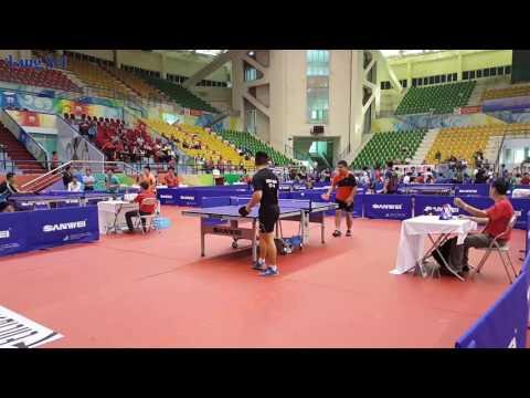 Ping Pong - Tuấn Nam Định vs Đảm Béo - Giải Bóng Bàn Hà Nội Open 2016
