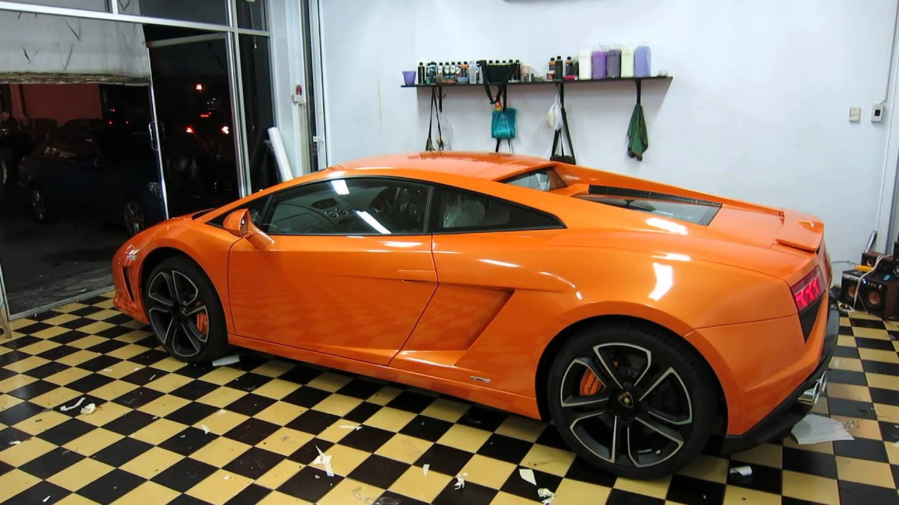 Lamborghini Gallardo Lp560 4 Clear Stoneguard And Aston