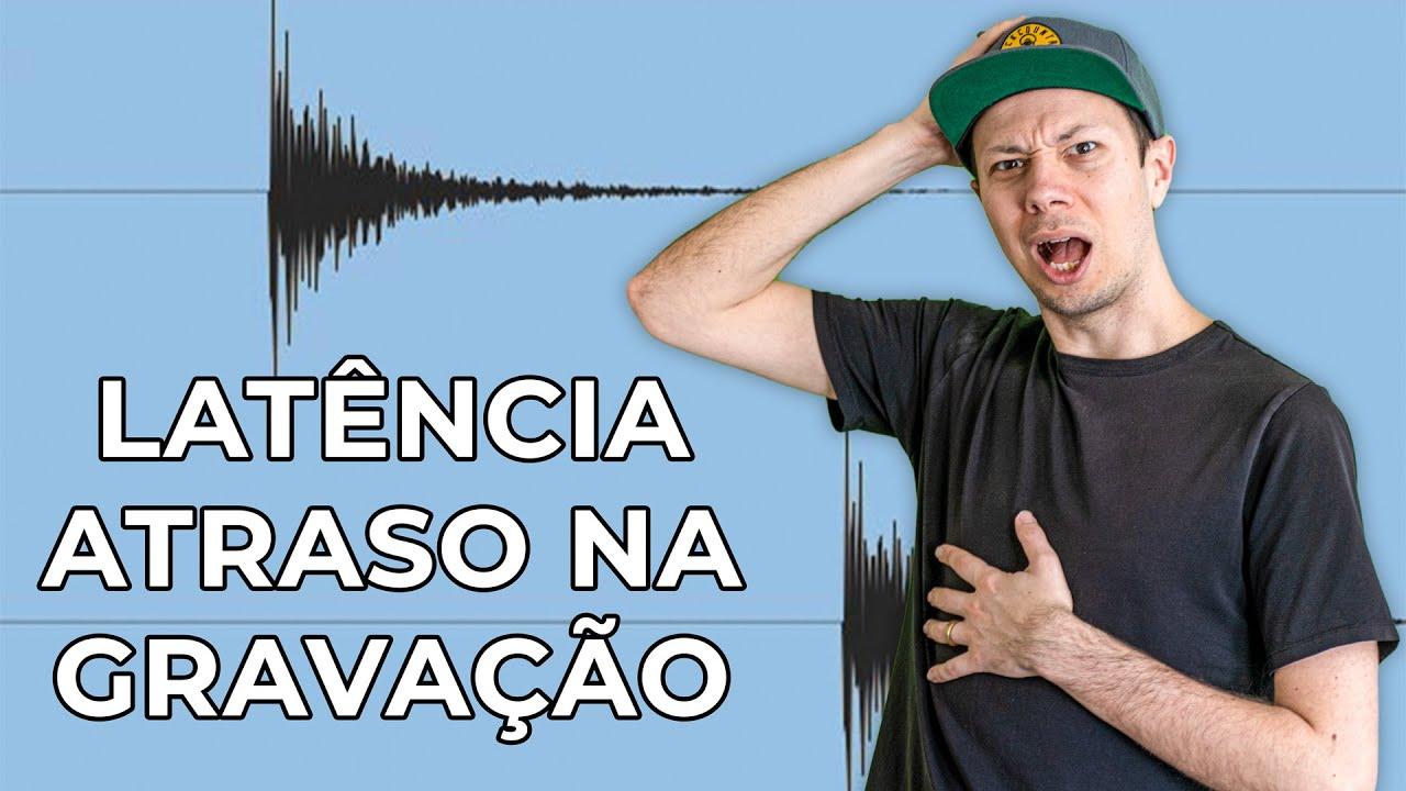 PC e Mac Mais Rápido no Homestudio: LATÊNCIA - Como resolver Atraso no som na hora de gravar na DAW
