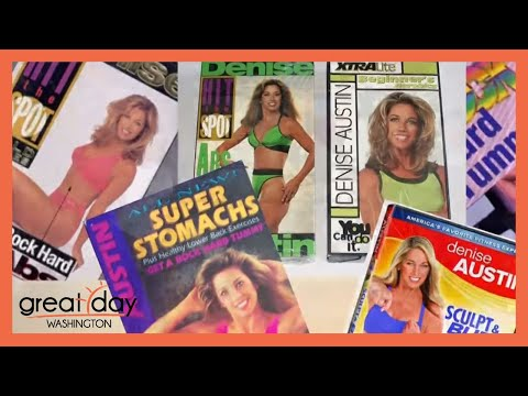 Denise Austin on how to be fit and fab over 50 - YouTube