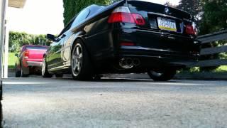 BMW 328ci e46 eBay muffler and headers