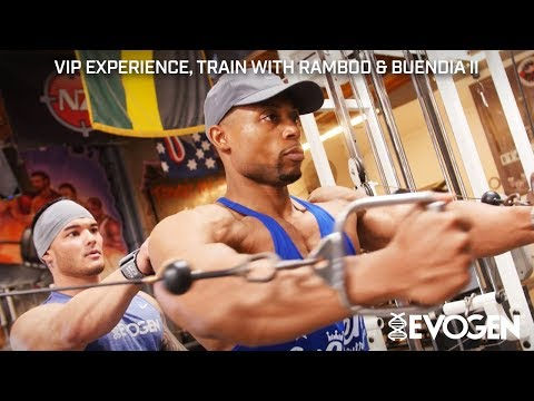 Evogen's VIP Winner Trains with Hany Rambod and Jeremy Buendia, Part II