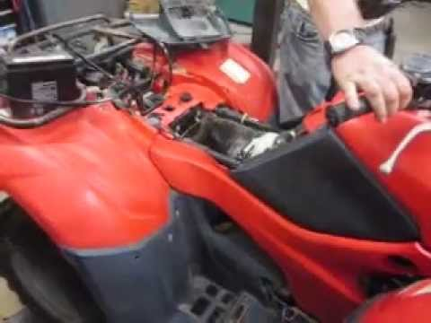 Honda Foreman Wiring Diagram 2007 Honda Trx 420 Rancher 4x4 Youtube