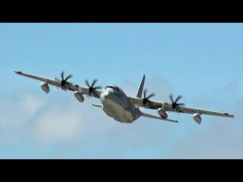 [普天間基地] C-130 Hercules takeoff MCAS Futenma