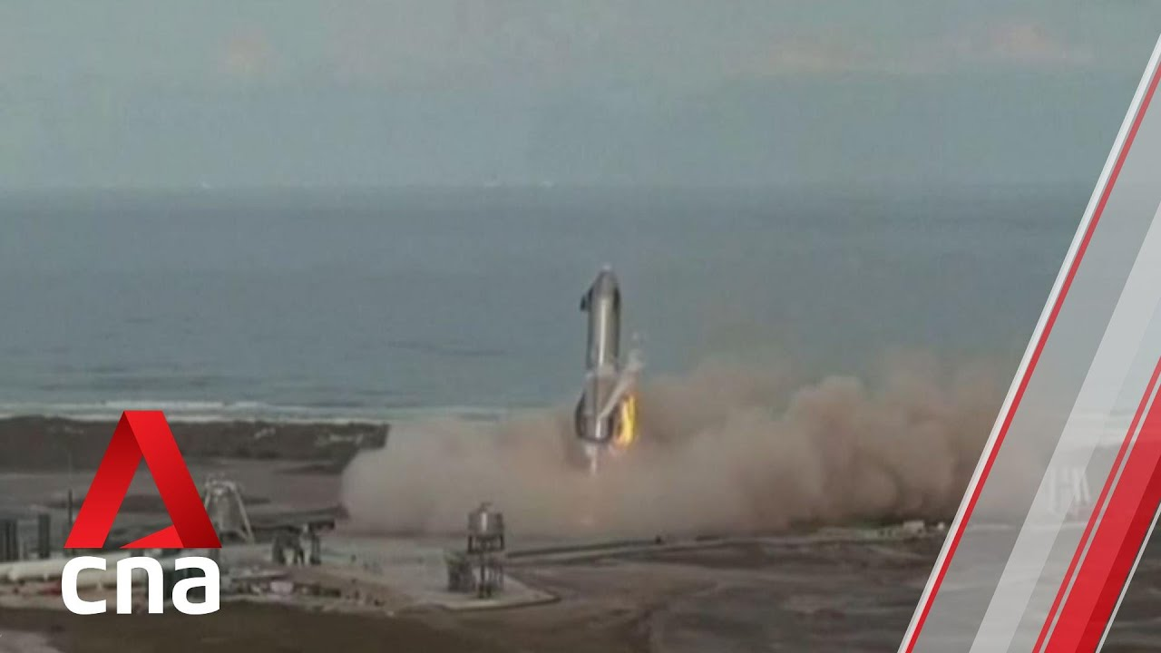 SpaceX Starship rocket prototype nails landing ... then blows up